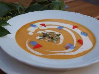 Jesienna wyżerka - zupa dyniowa